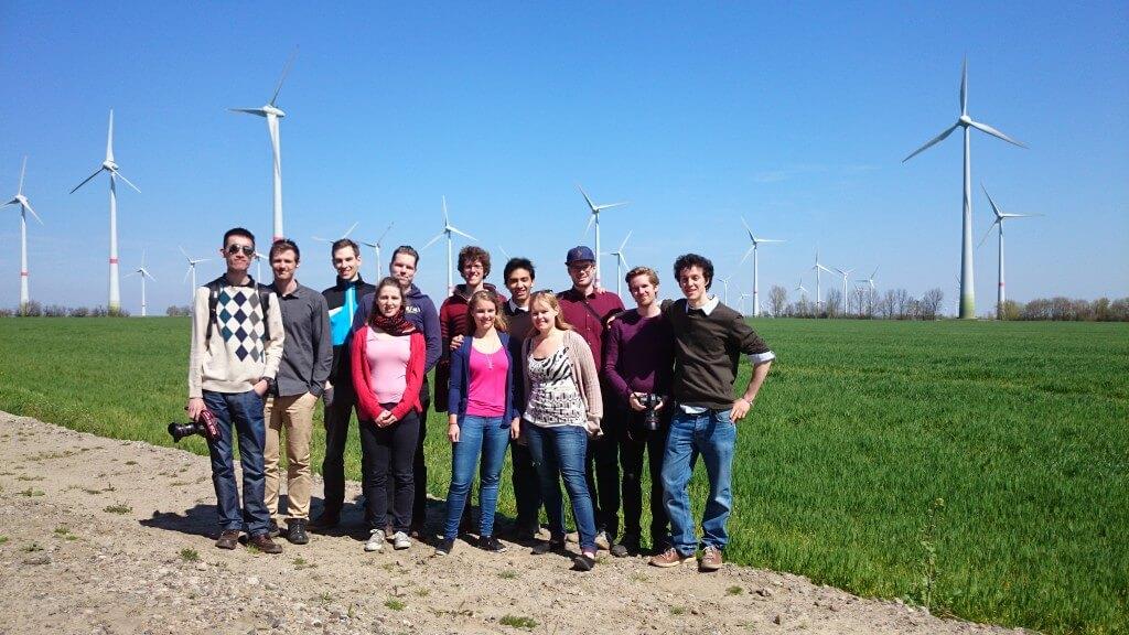 20140423 Studenten der Aalborg Universitt