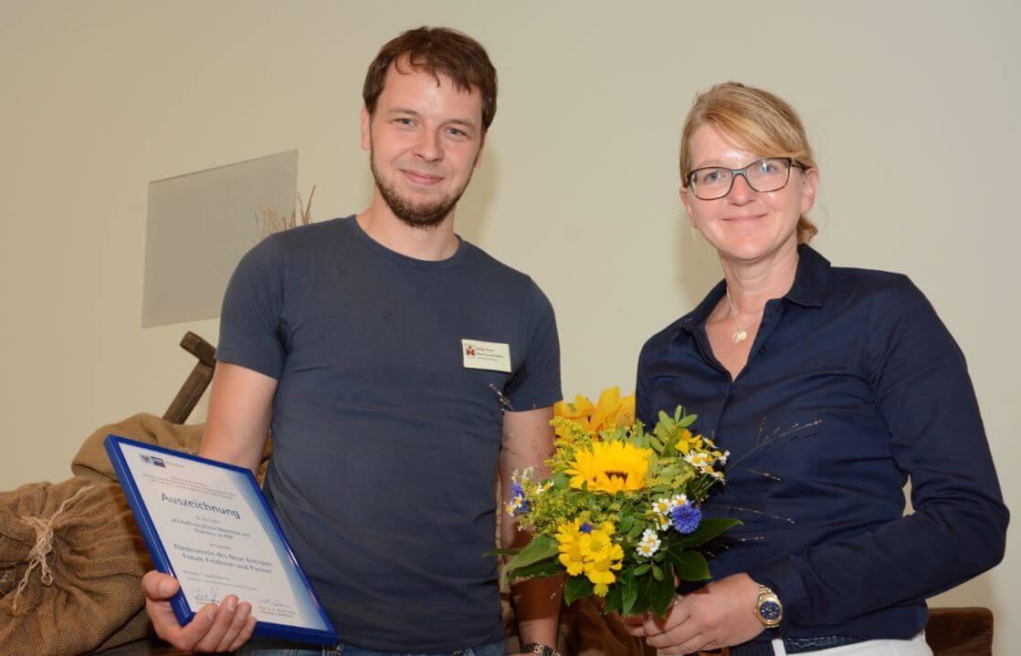 """Auszeichnung im Wettbewerb """"Region Zukunft"""" 2017 für das Forum"""