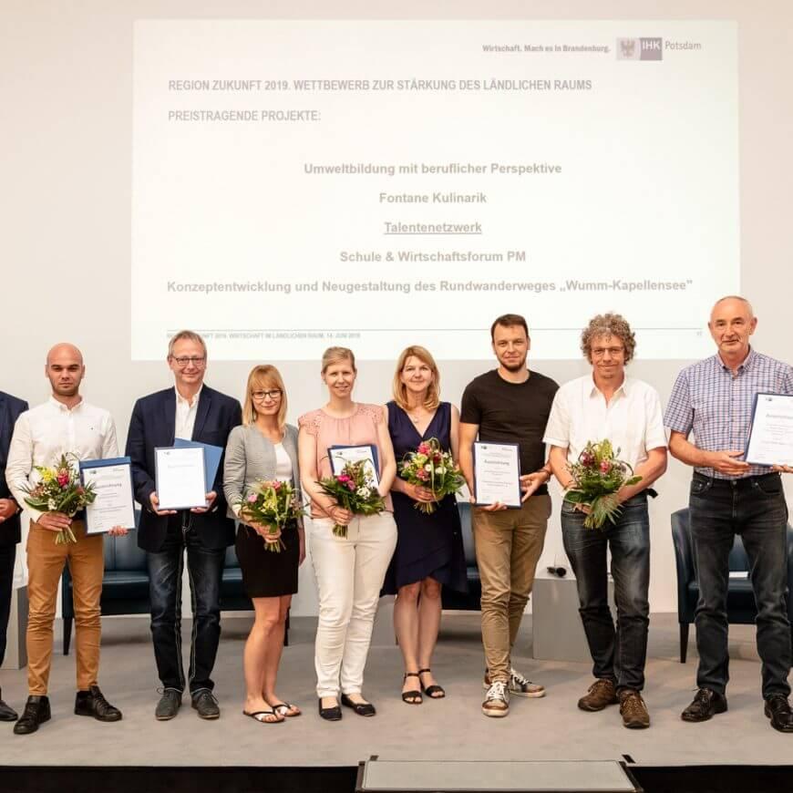 """Förderverein ist Preisträger im Wettbewerb """"Region Zukunft 2019"""""""